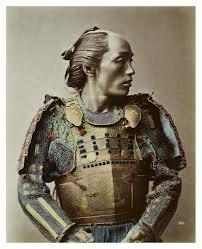 A blue samurai, sort of.